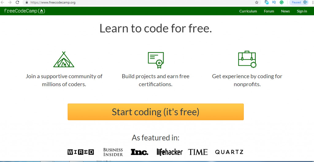 learn free coding