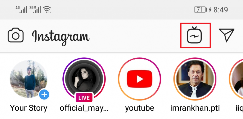 create your own channel on IGTV