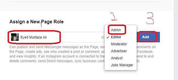 How to Make Someone Admin On Facebook page