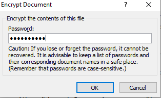 protect your document